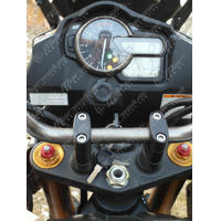 Handlebar risers V-Strom 1000 (2014+) - 30mm rise (Warning: Can not be used on...