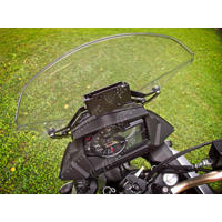 GPS mount with angle adjustment for V-Strom 650 (years 2017+)