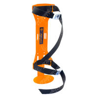 PET bottle holder - big version - ORANGE
